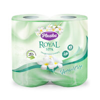 Plushe Royal Spa Herbal Care т/б 2 слоя 4 рулона 23м