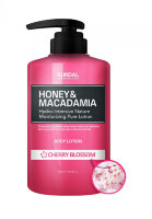 "Лосьон для тела ""Kundal Kundal Honey & Makadamia Pure Body Lotion"" Цветущая Вишня (CHERRY BLOSSOM) - 500мл"